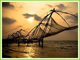 Chiniese Fishing Net, Cochin