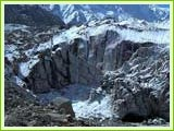 The source of river Ganges-Gomukh, Gangotri